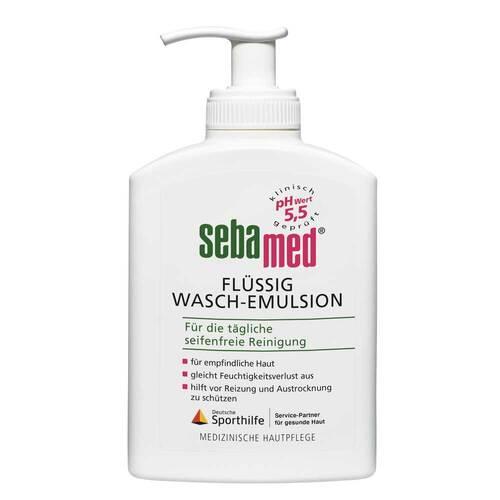Sebamed flüssig Waschemulsion mit Spender - 1