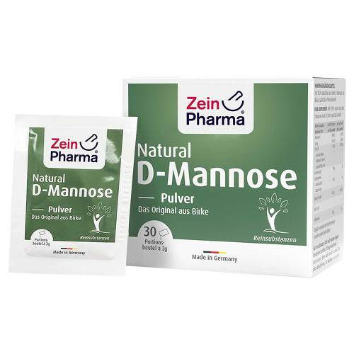 Natural D-Mannose 2000 mg Pulver Beutel - 1