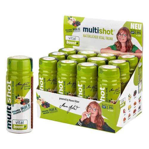 Multishot vital boost + Trinkampullen - 1