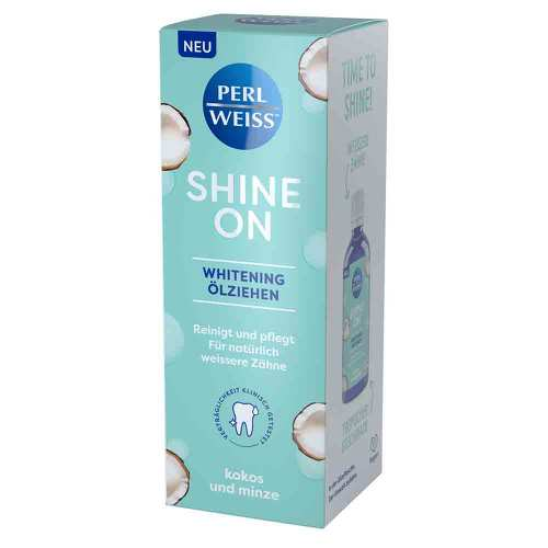 Perlweiss Shine on whitening Ölziehen - 1