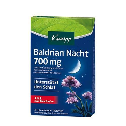 Kneipp Baldrian Nacht 700 mg überzogene Tabletten  - 1