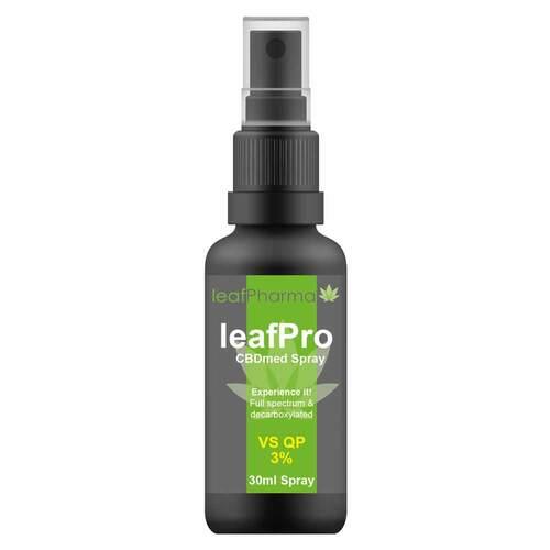 Leafpro Cbdmed Spray VS QP 3% - 1