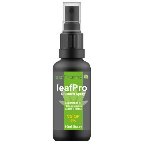 Leafpro Cbdmed Spray VS QP 5% - 1