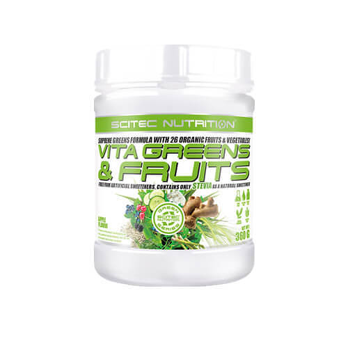 Vita Greens & Fruit Stevia Apfel Pulver - 1