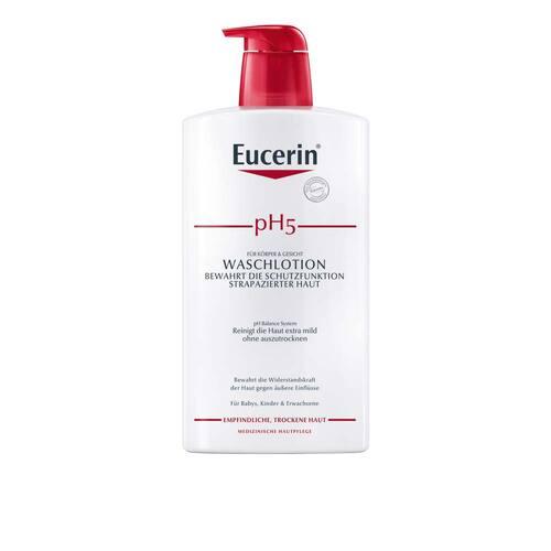 Eucerin pH5 Waschlotion empfindliche Haut mit Pumpe Sondergr - 1