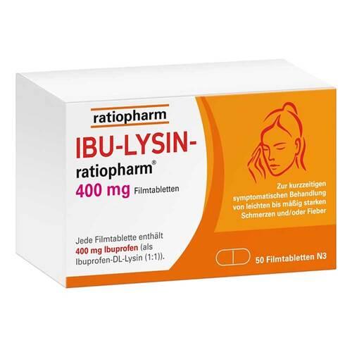 Ibu-Lysin-ratiopharm 400 mg Filmtabletten - 1
