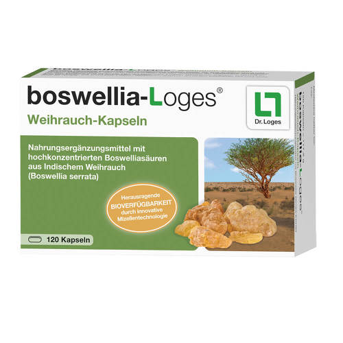 Boswellia-Loges Weihrauch-Kapseln - 1