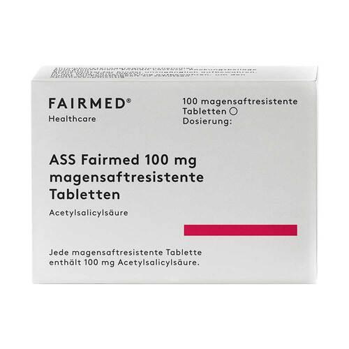 ASS Fairmed 100 mg magensaftresistent Tabletten - 1