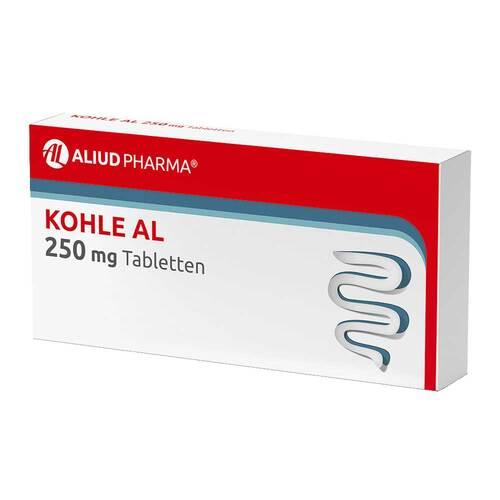 Kohle AL 250 mg Tabletten - 1