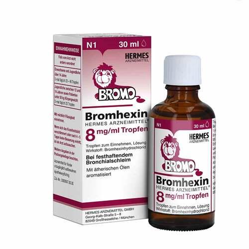 Bromhexin Hermes Arzneimittel 8 mg / ml Tropfen - 1