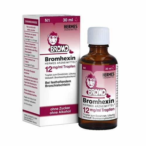 Bromhexin Hermes Arzneimittel 12 mg / ml Tropfen - 1