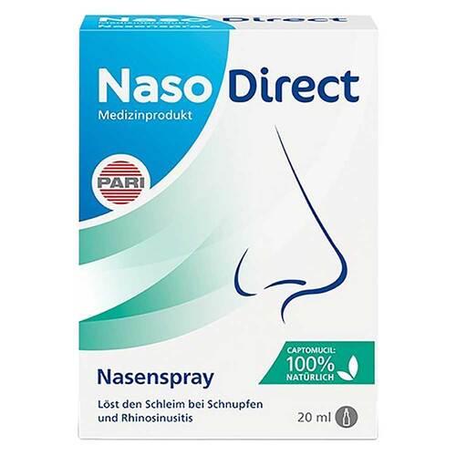 Nasodirect Nasenspray mit Captomucil - 1