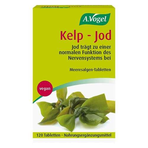 A.VOGEL Kelp-Jod Tabletten vegan - 1