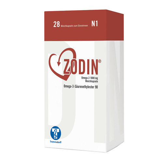 Zodin Omega-3 1000 mg Weichkapseln - 1