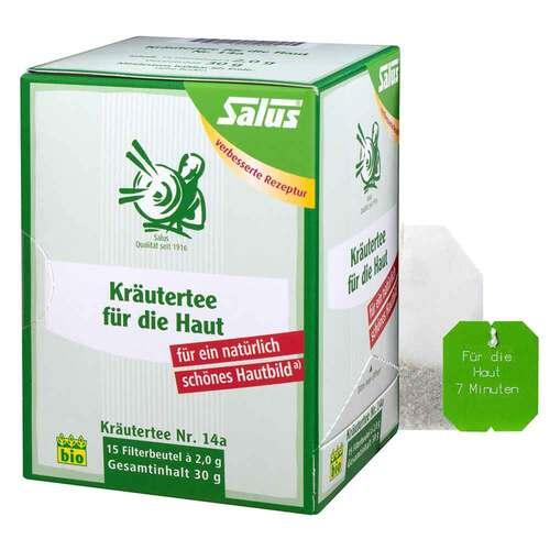 Kräutertee für die Haut Nr.14a Bio Salus Fbeutel  - 1