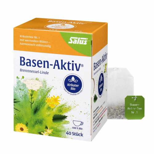 Basen Aktiv Tee Nr.1 Brennnessel-Linde Bio Salus - 1