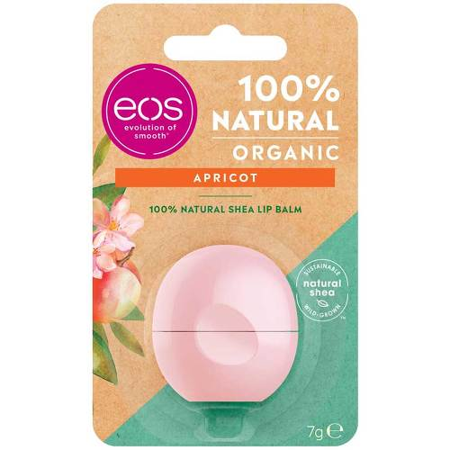 Eos Organic Lip Balm apricot sphere - 1