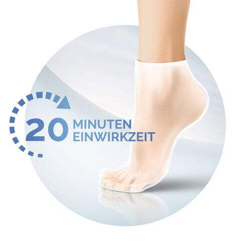 Scholl intensiv pflegende Fußmaske in Socken - 2