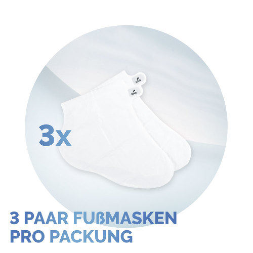 Scholl intensiv pflegende Fußmaske in Socken - 3