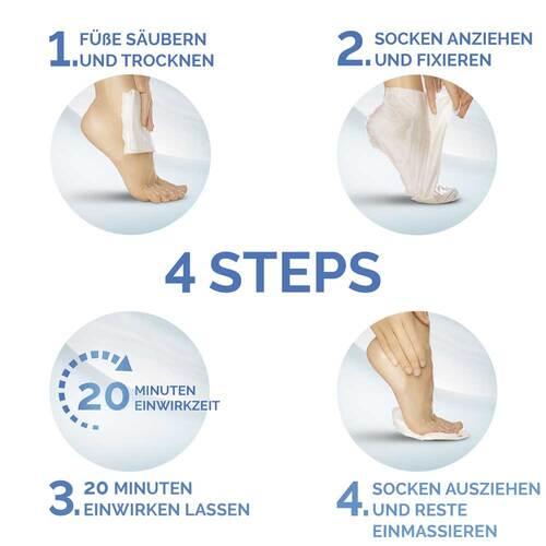 Scholl intensiv pflegende Fußmaske in Socken - 4