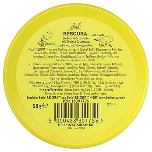 Bachblüten Original Rescura Pastillen Zitrone - 3