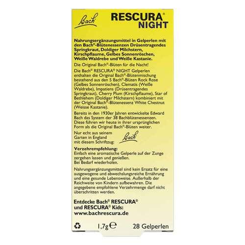 Bachblüten Original Rescura Night Pearls - 3