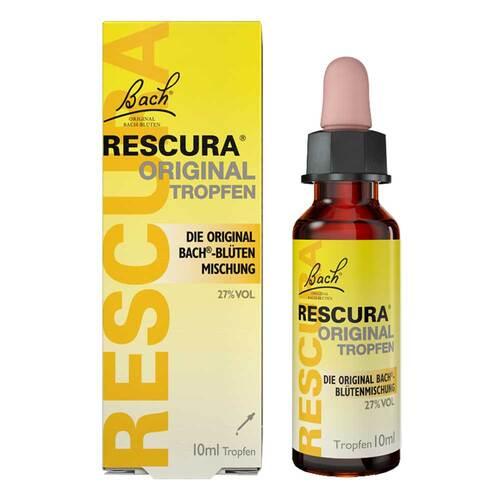 Bachblüten Original Rescura Tropfen mit Alkohol - 1