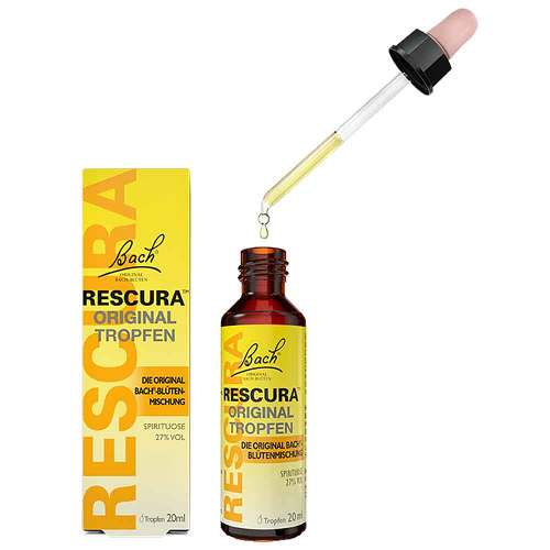 Bachblüten Original Rescura Tropfen mit Alkohol - 2