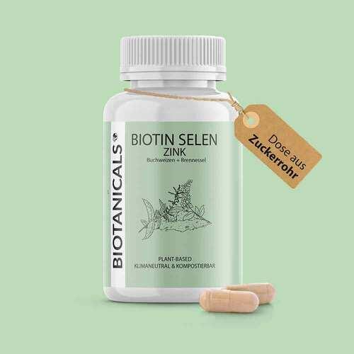 Biotanicals Biotin Selen Zink Kapseln - 2