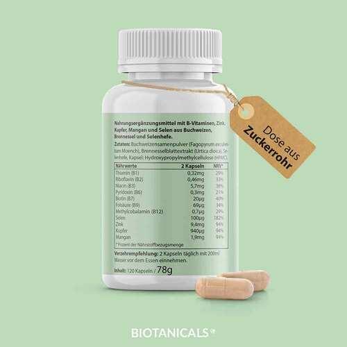 Biotanicals Biotin Selen Zink Kapseln - 3