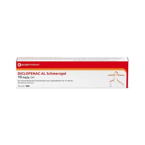 Diclofenac AL Schmerzgel 10 mg / g - 1