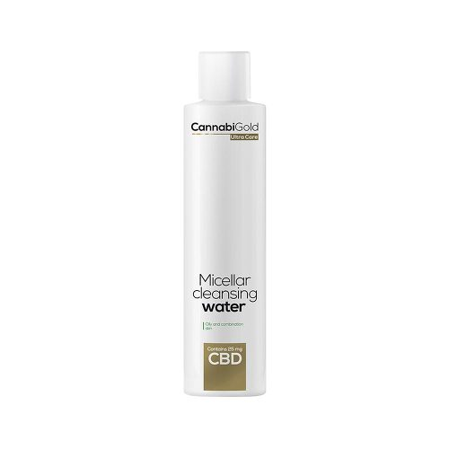 Cbd Mizellenwasser fettige + Mischhaut CannabiGold - 1