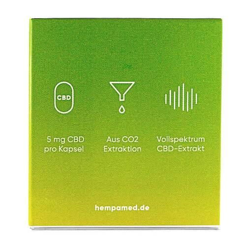 Hempamed Premium Cbd Kapseln mit 5 mg Cbd - 4