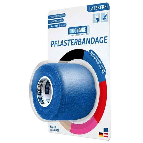 Pflasterbandage latexfrei Buddycare Med blau - 1