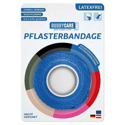 Pflasterbandage latexfrei Buddycare Med blau - 2