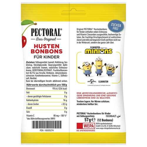 Pectoral für Kinder Minions Beutel - 2