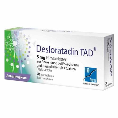 Desloratadin TAD 5 mg Filmtabletten - 1