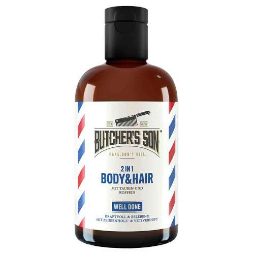 Butchers Son 2in1 Body & Hair Shampoo well done - 1