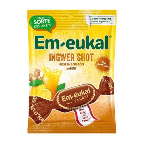 EM Eukal Bonbons Ingwer SHOT gefüllt zuckerhaltig - 1