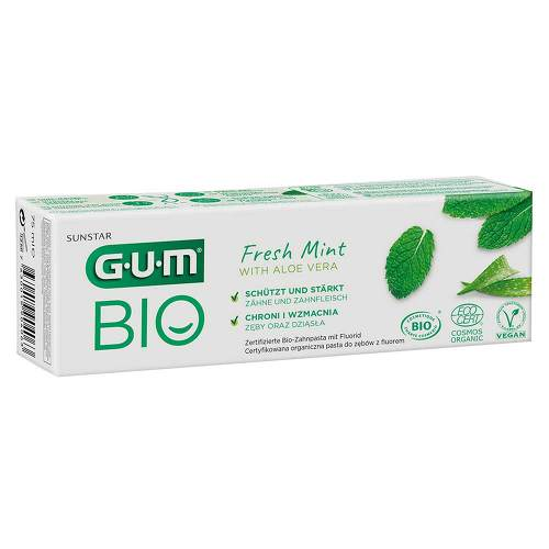 GUM Bio Zahnpasta fresh mint - 1
