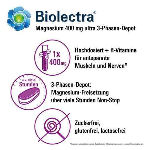 Biolectra Magnesium 400 mg ultra 3-Phasen-Depot - 2