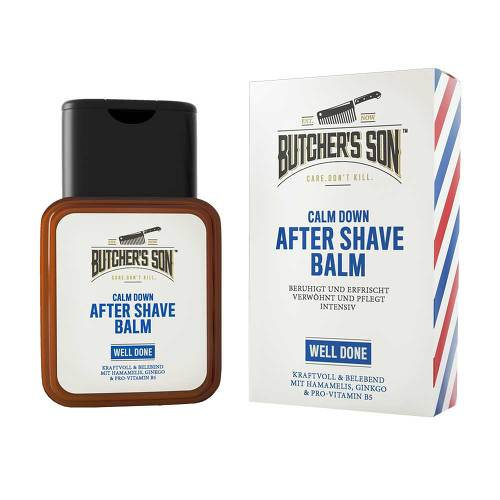 Butchers Son Calm Down After Shave Balm well done - 1