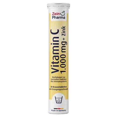 Vitamin C 1000 mg + Zink Brausetabletten - 1
