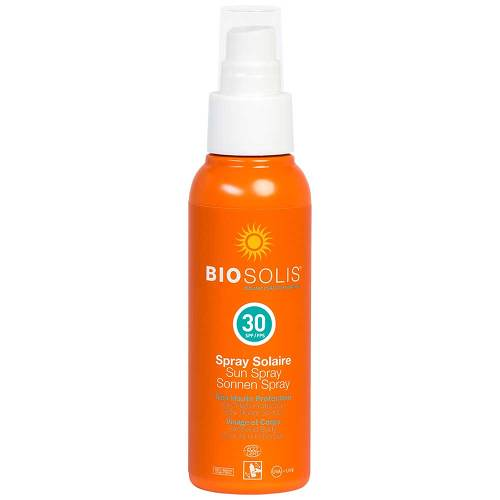 Bio Sonnenmilch Spray LSF 30 Biosolis - 1