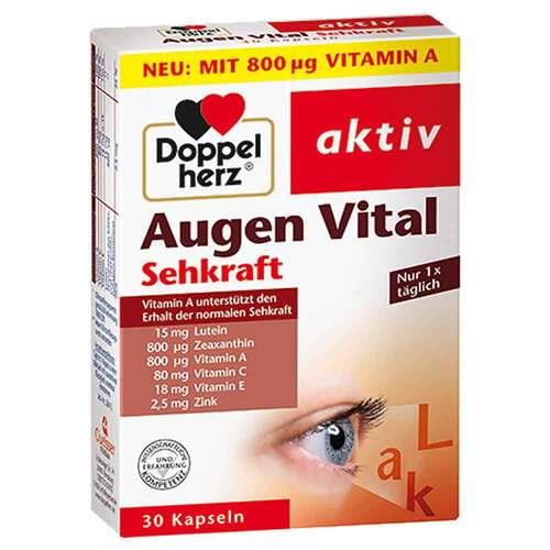 Doppelherz Augen Vital Sehkraft Kapseln - 1