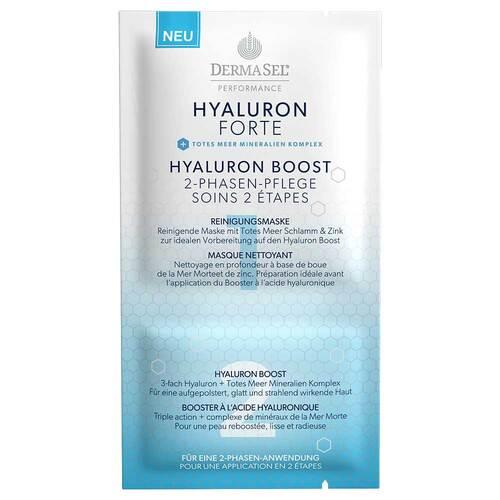Dermasel Performance Hyaluron Boost 2-Phasen-Maske - 1