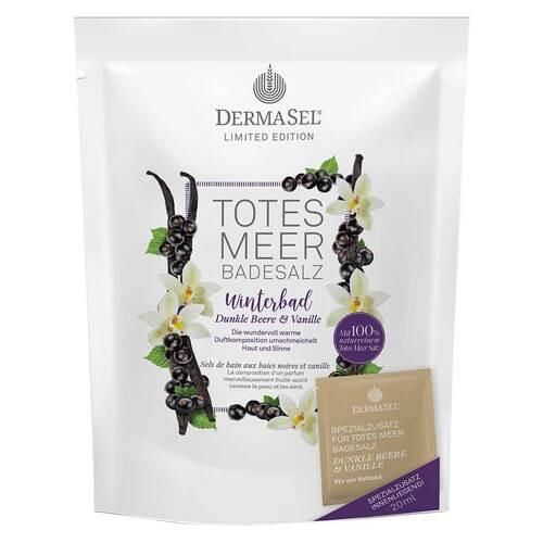 Dermasel TM Winterbad dunkle Beere & Vanille 400g + 20ml limited Edition - 1