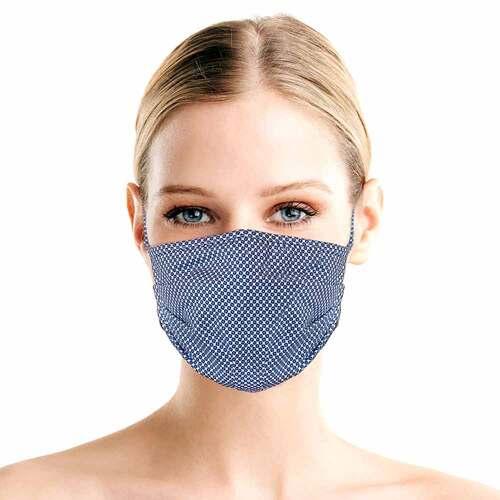 Luvos Activeface Mund-Nase-Maske Größe 1 blaugem. - 2