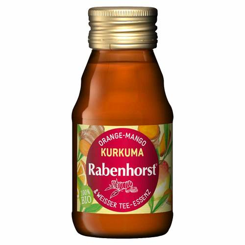 Rabenhorst Kurkuma-weißer Tee Bio Saft - 1