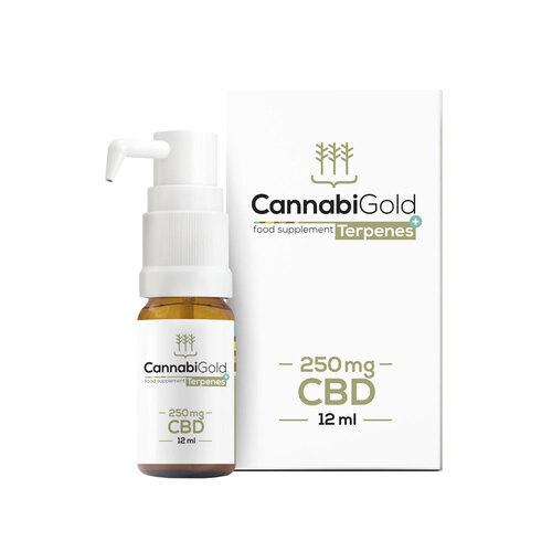 Cannabigold Cbd Terpenes + 250 mg Öl - 1